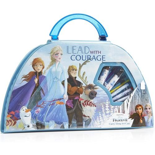 Valigetta Colori Frozen 2 - Disney, 50 pezzi