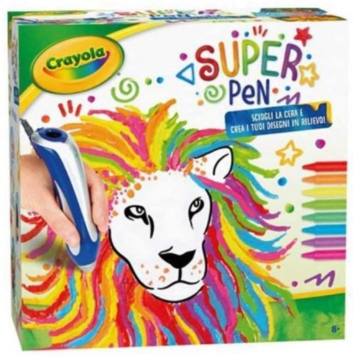 Super Pen Crayola a cera, disegni in rilievo