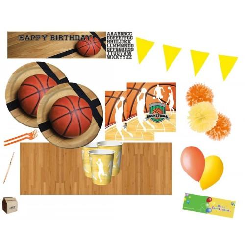 Kit 16 persone pallacanestro con inviti