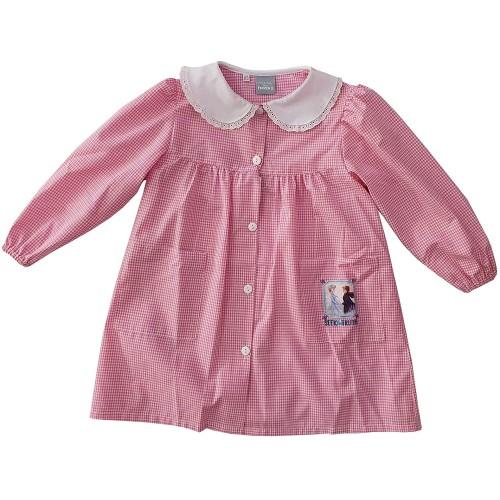 Grembiule scuola materna Frozen II Disney, rosa
