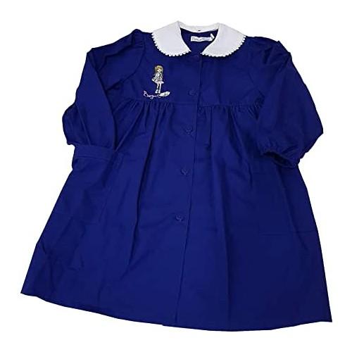 Grembiule scuola elementare bambina, colore blu notte