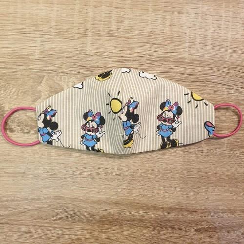 Mascherina protettiva bambini - Minnie Mouse, in cotone