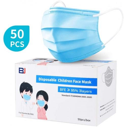 50 Mascherine chirurgiche FFP1 per bambini