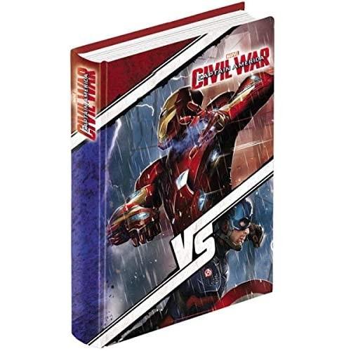 Diario scuola Civil War - Avengers, omaggio penna e segnalibro