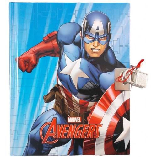 Diario segreto scuola Capitan America - Marvel, non datato