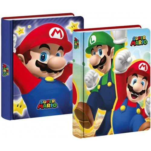 Diario Super Mario Bros - Nintendo, non datato, 12 mesi