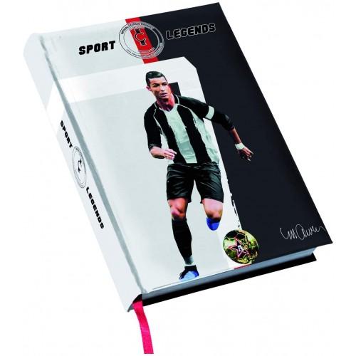 Diario scuola CR7 - Cristiano Ronaldo - Juventus, non datato
