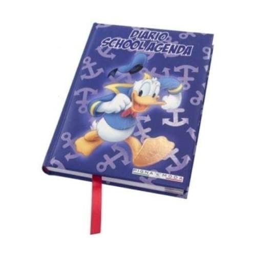 Diario scuola Paperino Disney + Omaggio Penna Glitterata + segnalibro
