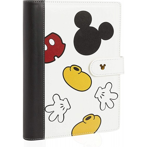 Agenda  Mickey Mouse - Disney - Blocco Note A5 con spirale