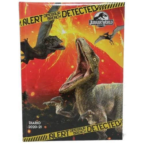 Diario scuola Jurassic World Datato 2020-2021