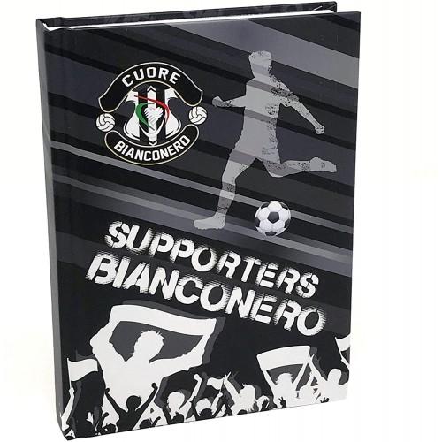 Diario Cuore Bianconero - Juve, 10 Mesi, 16 Cm