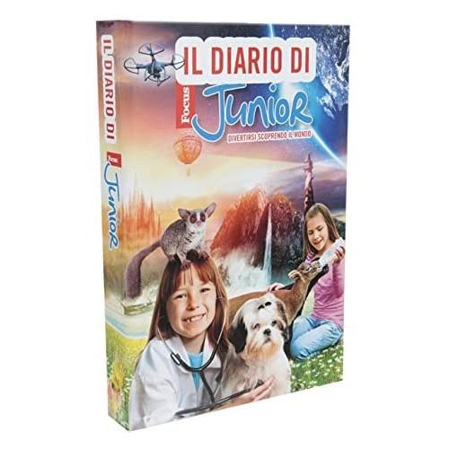 Diario Focus Junior - 10 Mesi - Giochi Preziosi