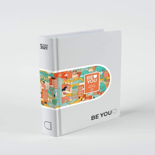 Diario agenda Be You - 2020/2021 - Original pearl - Giochi Preziosi