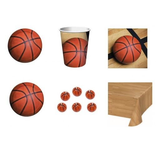 Kit 8 persone festa basket