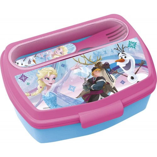 Portamerenda Frozen II Disney, contenitore lunch box