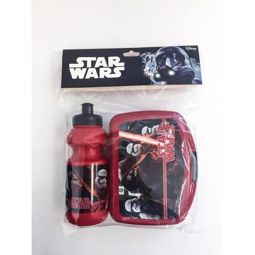 Set merenda / pranzo Star Wars, per bambini