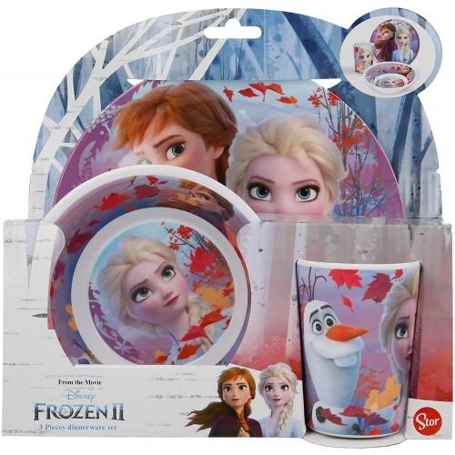 Set Pranzo Frozen 2 - Disney - 3 pezzi