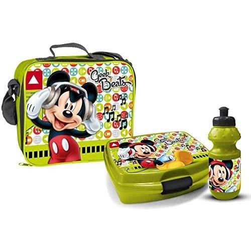 Set Pranzo 3 pz Mickey Mouse - Topolino Disney