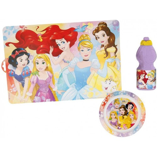 Set pappa Principesse Disney, 3 articoli