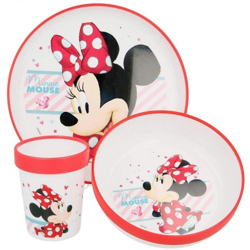 Set Pappa Minnie Disney Originale al 100%, 3 pezzi