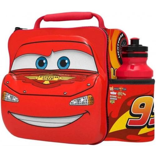 Borsa Termica Pixar Cars - Disney, con borraccia