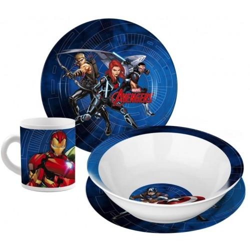 Set da Tavola in porcellana Avengers, confezione regalo
