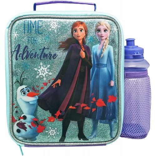 Set da pranzo glitterato Frozen II Disney, per bambini