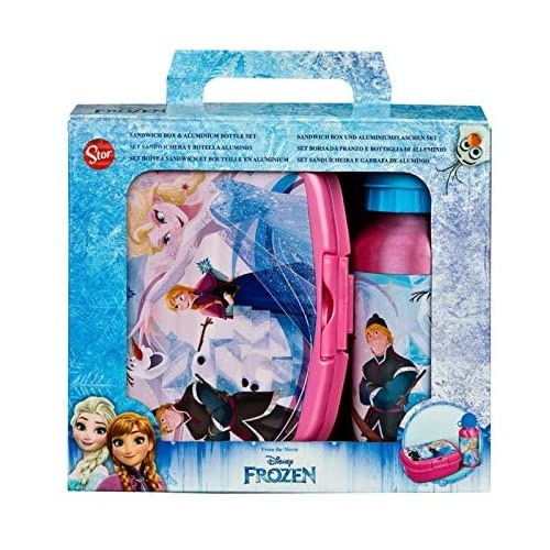 Lunch box Frozen Disney, portamerenda e borraccia