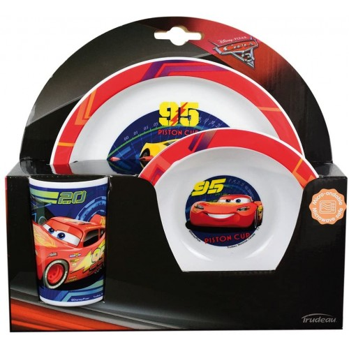 Set pranzo / colazione Cars -Disney, confezione regalo