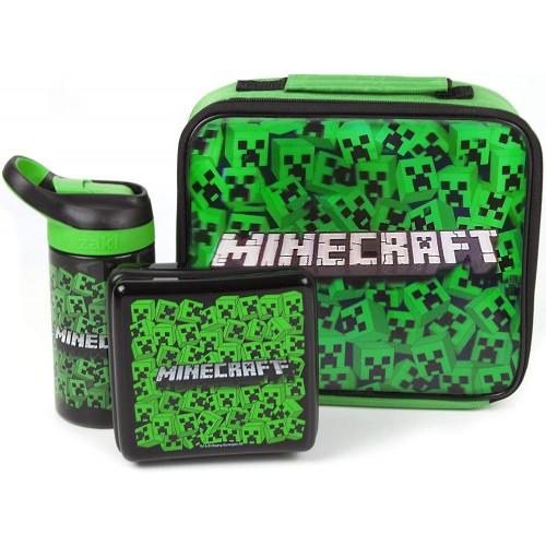 Borsa pranzo Minecraft - Creeper - Set Lunch Box