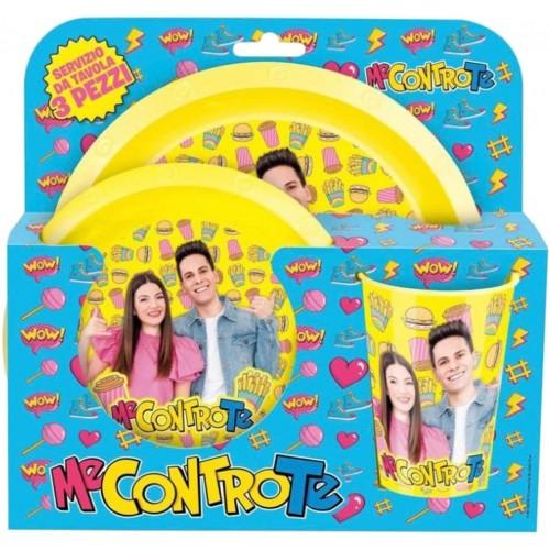 Set colazione / pranzo Me contro Te - Lunch box, Lui e Sofi
