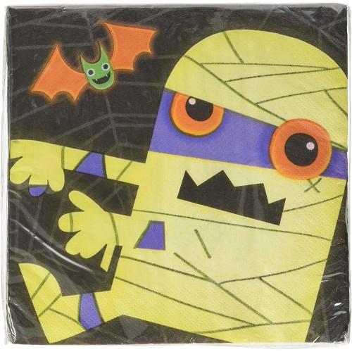 Tovaglioli Halloween con Zombies, per allestimenti