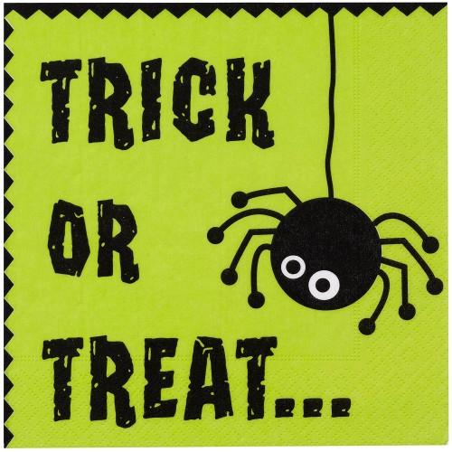 Tovaglioli Halloween Trick or Treat, 16 pezzi