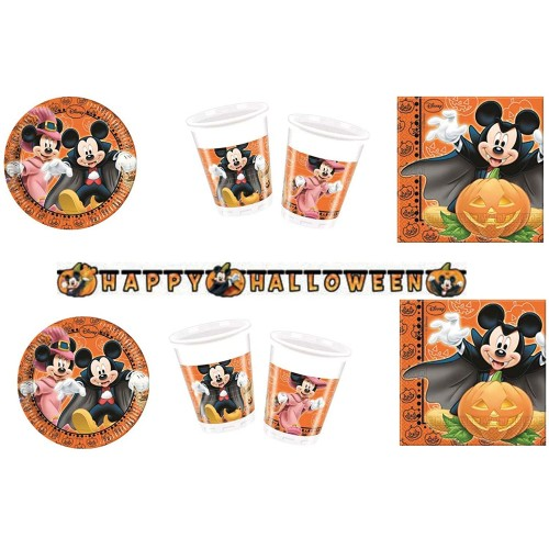 Kit 32 persone Topolino Halloween - Disney