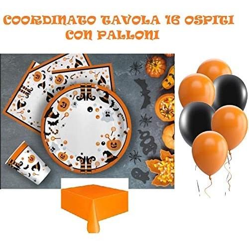 Kit 16 persone Halloween con palloncini