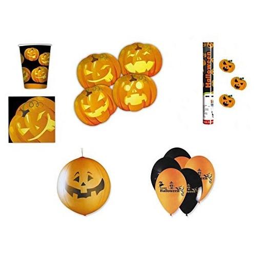 Kit per 8 Persone Halloween New, coordinato tavola