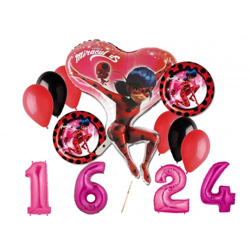 Bouquet palloncini Lady Bug