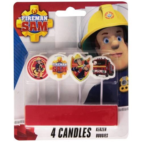 4 Candeline Sam Il Pompiere