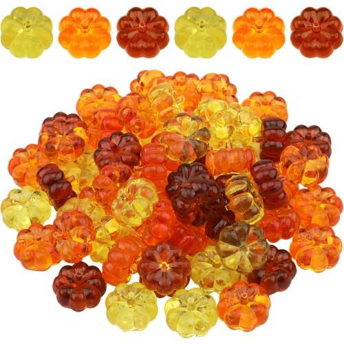 60 Mini Zucche Artificiali, decorative