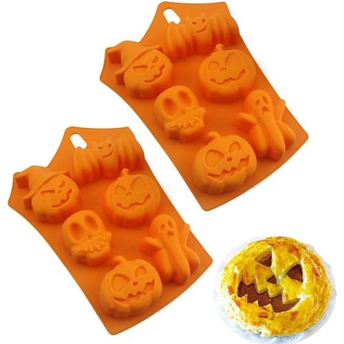 Stampo per dolci in Silicone Zucca di Halloween