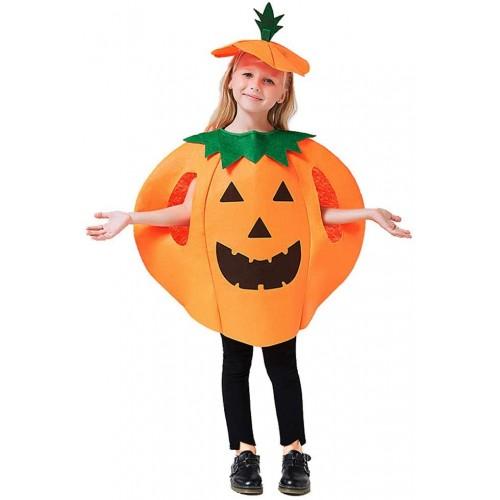 Costume da zucca di Halloween per bambini