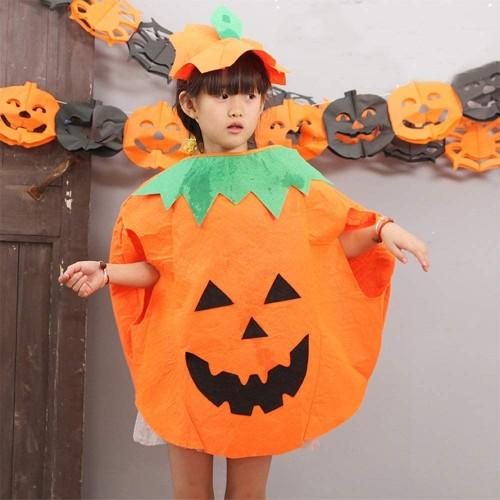 Costume da zucca per Halloween per bambini 80 cm Amosfun