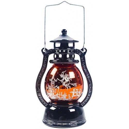 Lanterna di Halloween per giardino, luce a Led