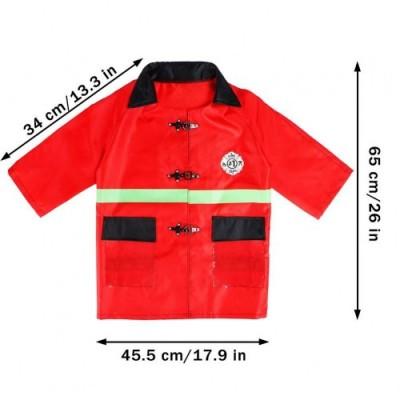 vamei 10 Pezzi Il Pompiere Bambino Cappello Carnevale Casco Pompiere Halloween e Assessories Estintore Ascia