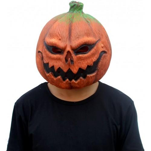 Maschera in lattice Zucca di Halloween, per bambini