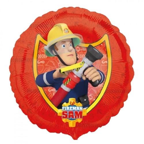 Palloncino sagomato Sam Il Pompiere