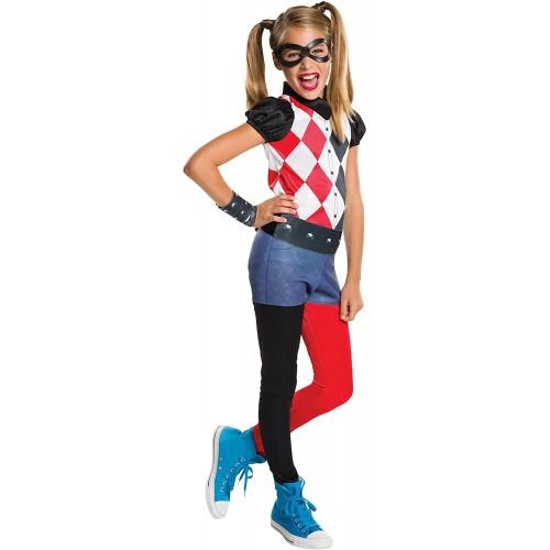 Costume Harley Quinn per Bambini, Originale DC Comics