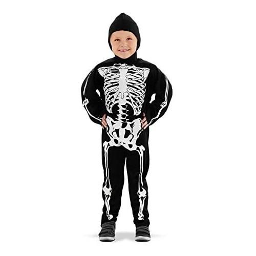 Costume da scheletro per Halloween per bambini