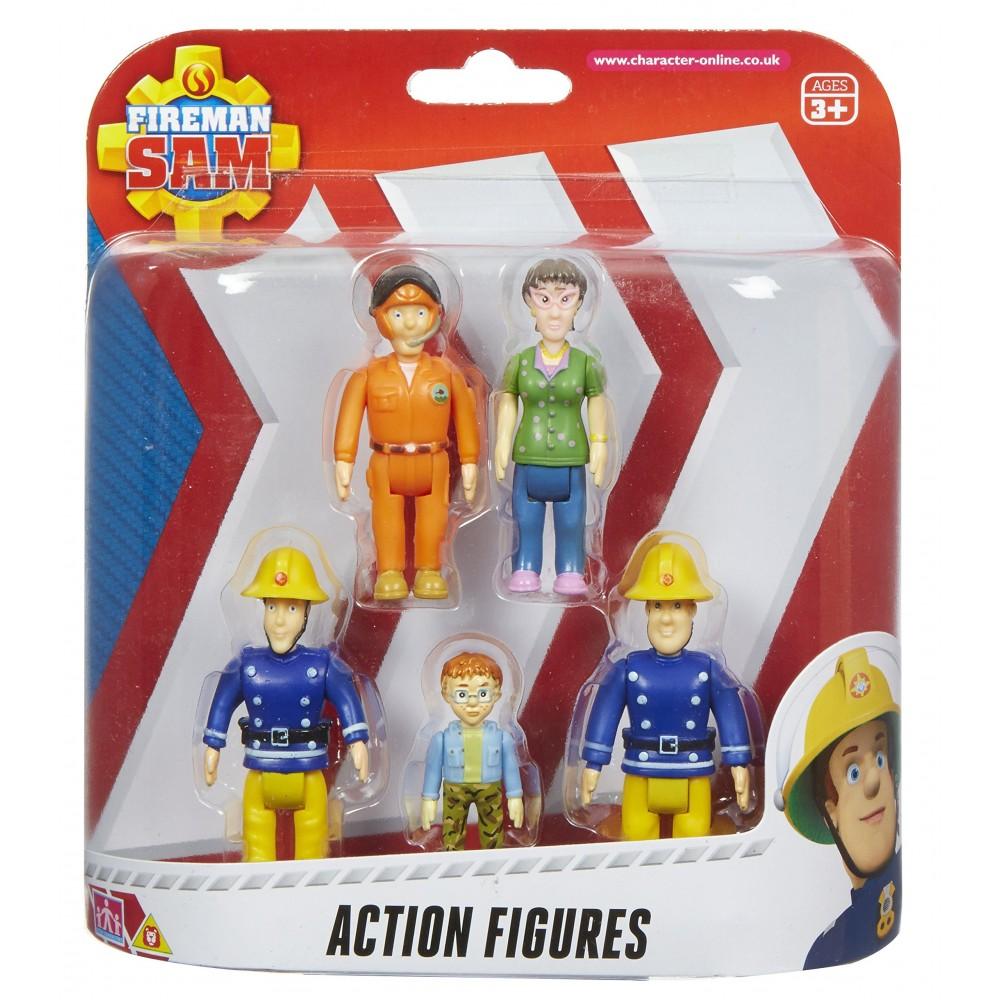 Action figure Sam Il Pompiere