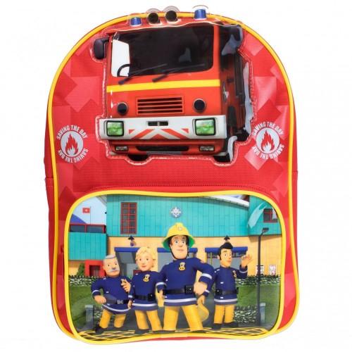 Fireman Sam - Zaino di Sam il Pompiere